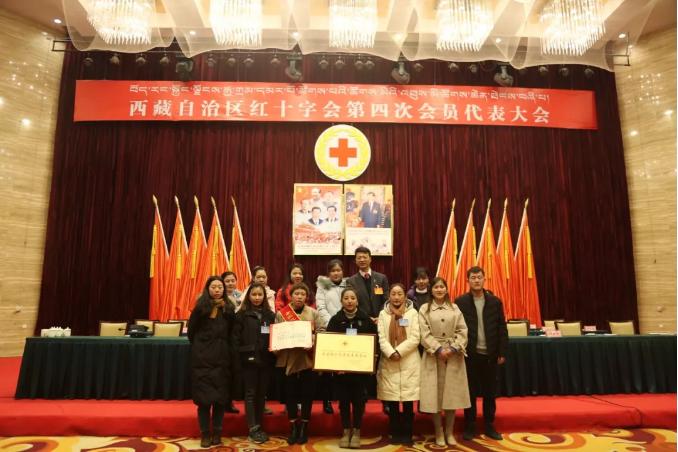 双喜临门——西藏阜康天使基金会荣